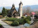drewniany kościółek w Karpaczu